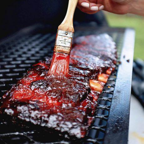 Jazzy Hog glacis BBQ